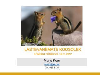 LASTEVANEMATE KOOSOLEK S MERU P HIKOOL 19.01.2012