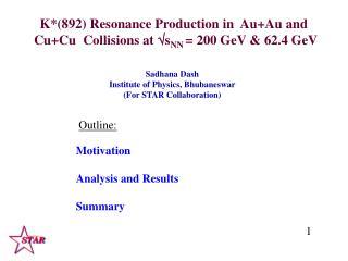 K*(892) Resonance Production in  Au+Au and   Cu+Cu  Collisions at  ? s NN  = 200 GeV & 62.4 GeV