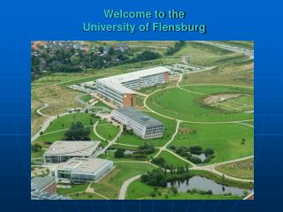 Welcome to the  University of Flensburg