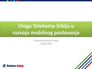 Privredna komora Srbije  24.09.2012
