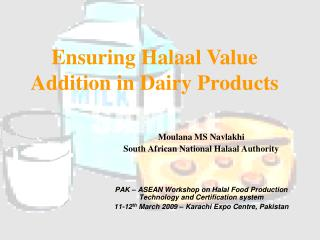 Moulana MS Navlakhi South African National Halaal Authority