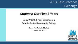2013 Best Practices Exchange
