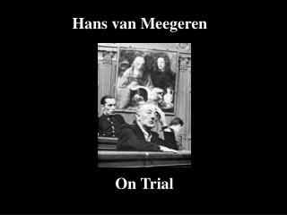 Hans van Meegeren