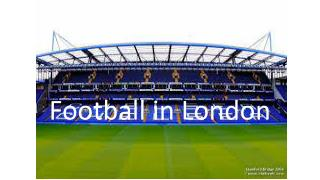 Football  in London