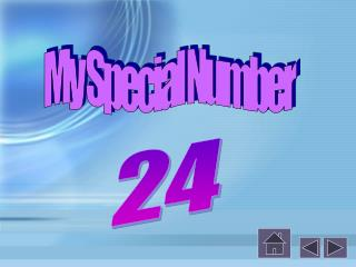 My Special Number