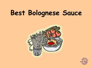 Best Bolognese Sauce