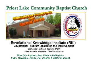 Priest Lake Community Baptist Church