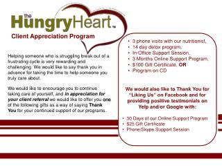 Client Appreciation Program