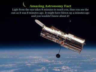 How to Measure DISTANCES in Space