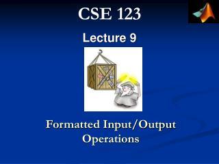 CSE  1 23
