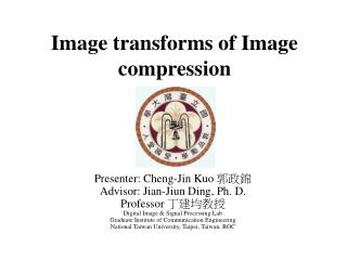 Image transforms of Image compression