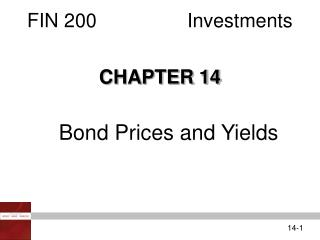 FIN 200Investments