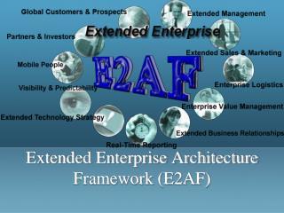 Extended Enterprise Architecture Framework (E2AF)