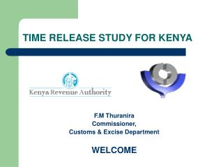 TIME RELEASE STUDY FOR KENYA