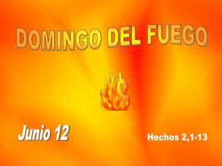 DOMINGO DEL FUEGO