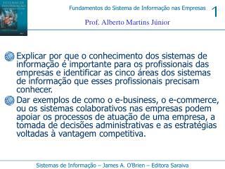 Prof. Alberto Martins Júnior