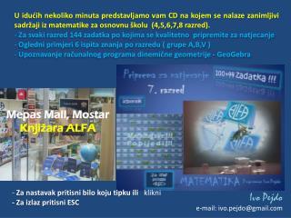 Mepas Mall, Mostar Knjižara ALFA