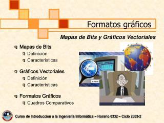 Formatos gráficos