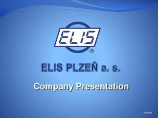 ELIS PLZEŇ a. s.