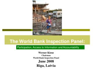 The World Bank Inspection Panel: