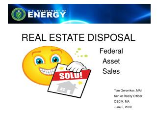REAL ESTATE DISPOSAL