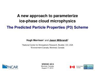 A new approach to parameterize ice-phase cloud microphysics