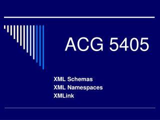 ACG 5405
