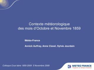Colloque Crue Isère 1859-2009  5 Novembre 2009
