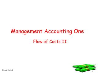 Management Accounting One