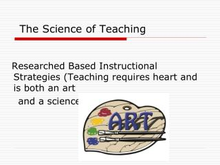 The Science of Teaching