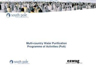 Multi-country  Water Purification  Programme  of Activities (PoA )