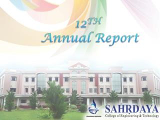 12 TH Annual Report