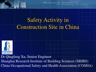 Safety Activity in  Construction Site in China