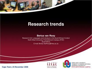 Research trends