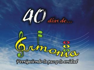 Repasemos el verso de memoria lema de Armonía