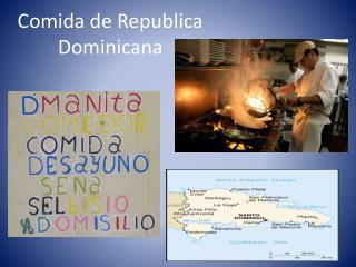 Comida de Republica Dominicana