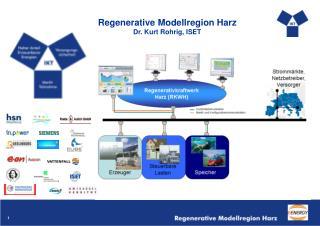 Regenerative Modellregion Harz Dr. Kurt Rohrig, ISET