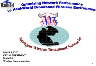 Optimizing Network Performance  in Real-World Broadband Wireless Environments