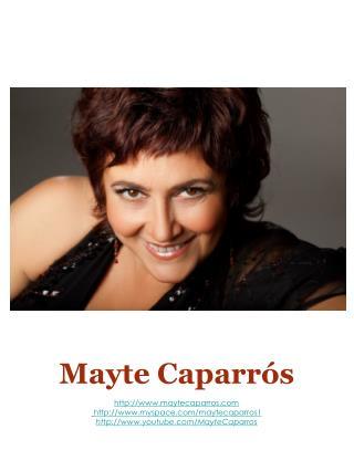 Mayte Caparrós maytecaparros myspace/maytecaparros1