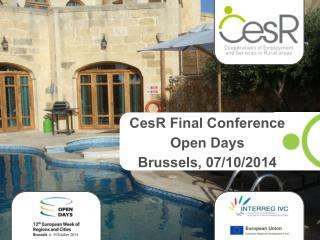 CesR Final Conference Open Days Brussels, 07/10/2014