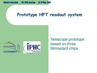 Prototype HFT readout system