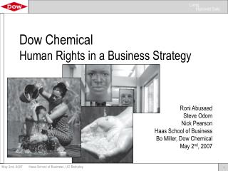 Dow Chemical  Human Rights in a Business Strategy