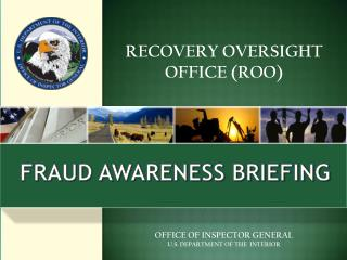 RECOVERY OVERSIGHT OFFICE (ROO)