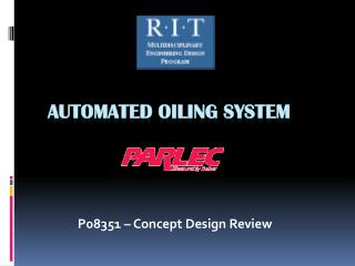Automated Oiling System