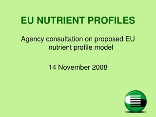 EU NUTRIENT PROFILES
