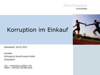 Korruption im Einkauf