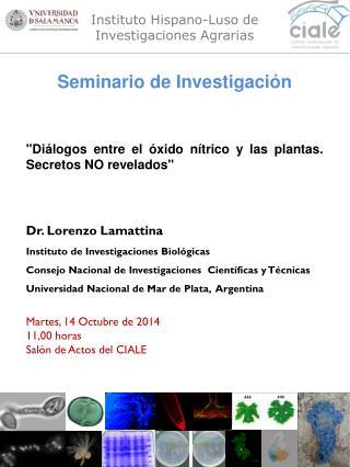 Instituto Hispano-Luso de Investigaciones Agrarias
