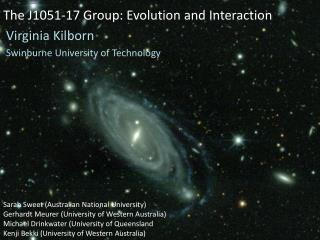 The J1051-17 Group: Evolution and Interaction