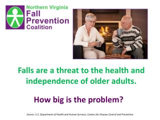 Falls are a threat to the health and independence of older adults.