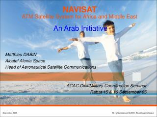 NAVISAT  ATM Satellite System for Africa and Middle East An  Arab  Initiative